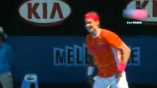 A Rafael Nadal le piden matrimonio en pleno partido