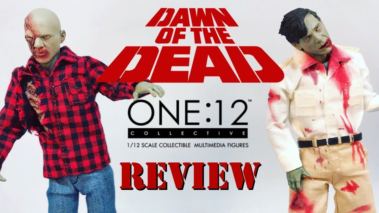 In STOCK Mezco One 12 Dawn of the Dead Boxed Set Action Figure