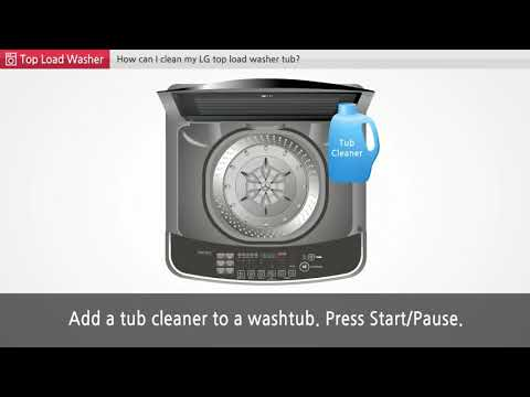 [LG Top Load Washer] - Laundry Tub cleaning in LG Top Load Washing Machine