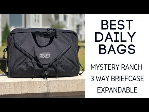 Mystery Ranch 3 Way Briefcase Review – Expandable and Durable 22L Convertible EDC Bag