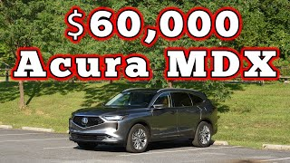 homepage tile video photo for 2022 Acura MDX SH-AWD Advantage: Regular Car Reviews