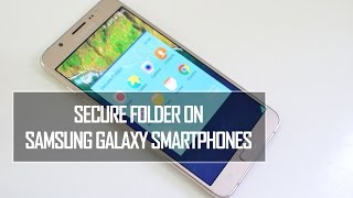Secure Folder is a new feature in Samsung Galaxy smartphones which ...