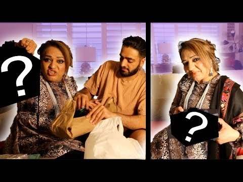 BROWN MOM REACTS TO EXPENSIVE GIFTS!
