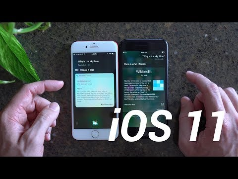iOS 11 Siri Test: Better Than iOS 10?