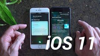 iOS 11 Siri Test: Better Than iOS 10?