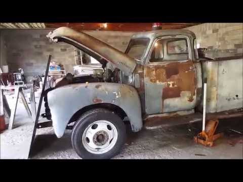 1948 chevy mobil rat rod tow truck build 3