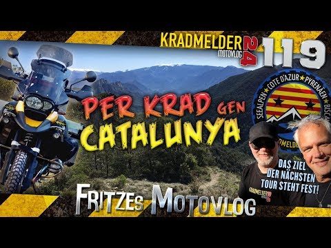Per Krad gen Catalunya ✫ Die nächste Kradmelder24-Tour 2019 wird uns in die Pyrenäen führen ◙ MV119