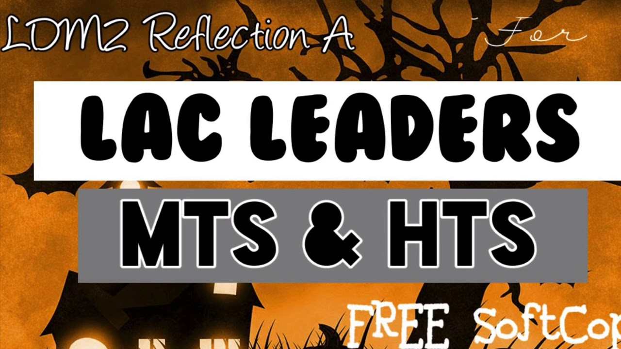 Download LDM2 Reflection A for LAC Leaders( MTs and HTs) || Soft copy available