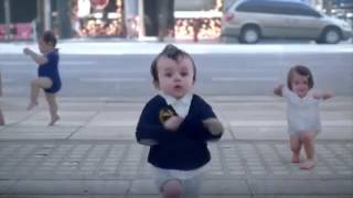 Dancing Babys  - Evian Commercial | 2013 |The New Funny Evian Commercial