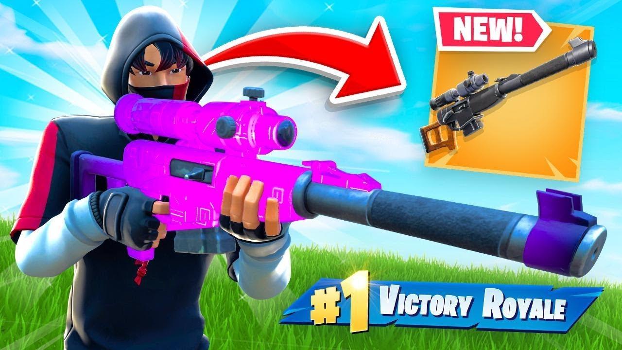 So Epic Added a MACHINE GUN SNIPER to Fortnite... thumbnail