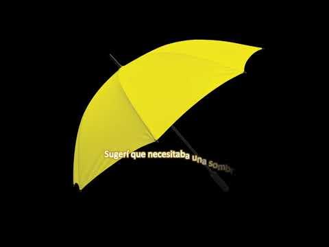 La sombrilla amarilla