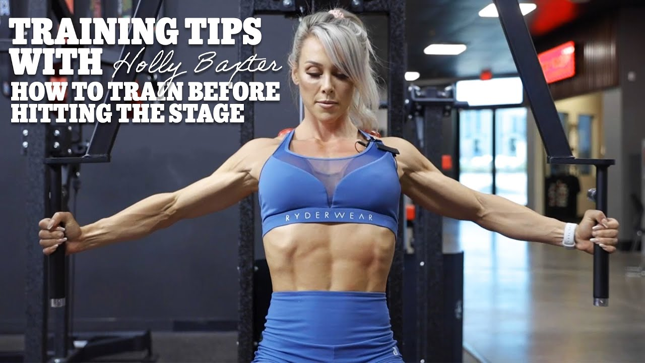 How to Train Before Taking the Stage | WBFF Vegas 2021 | Holly T. Baxter