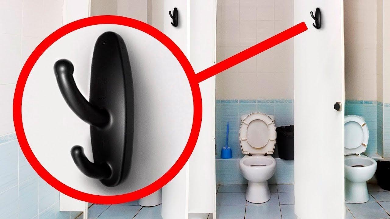Скрытая камера в туалете полиции