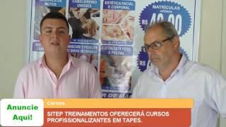 SITEP TREINAMENTOS OFERECERÁ CURSOS PROFISSIONALIZANTES EM TAPES