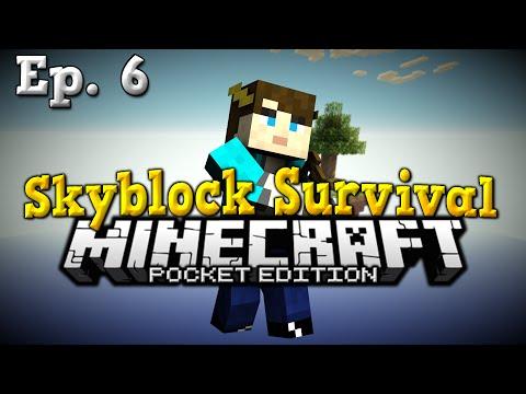 MCPE Skyblock 0.11.0 (Ep. 6) - CHICKEN MEMORIAL - Minecraft PE (Pocket Edition)
