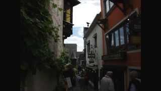 Besuch in Rüdesheim am Rhein im Rheingau
