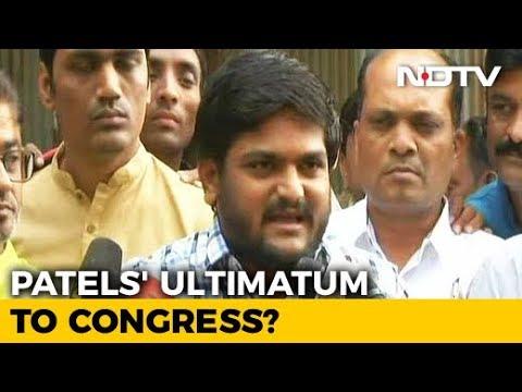 Hardik Patel Group Delivers New Ultimatum To Congress. Deadline Is Midnight
