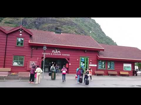 Visit to Flåm, Norway