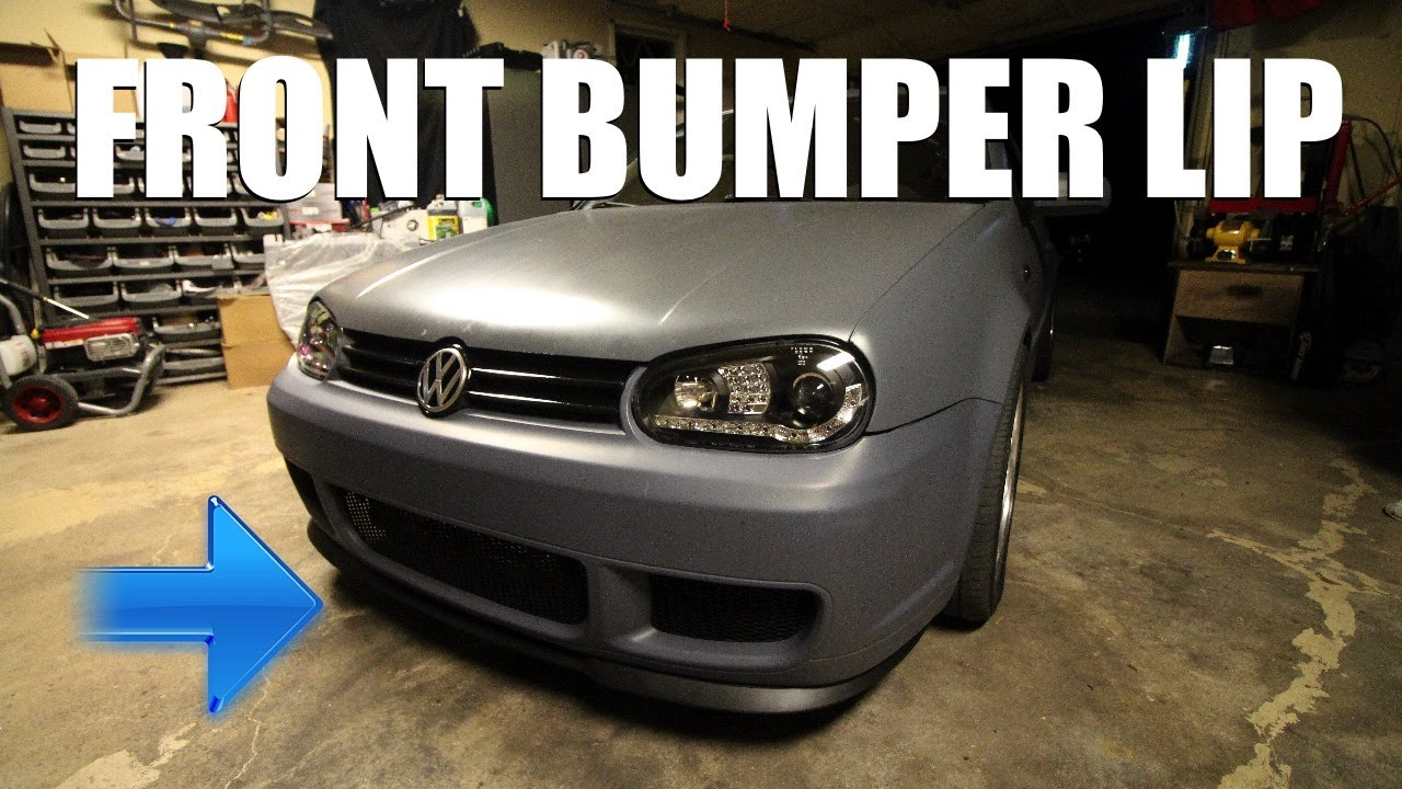How to Install a Front Lip