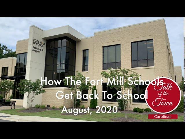 How Fort Mill Schools Get Back To School