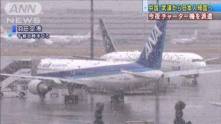 中国・武漢市にチャーター機 28日夜に派遣(20/01/28)