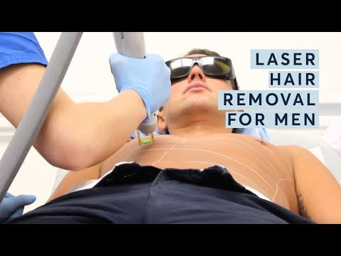 Laser Hair Removal Men - Pulse Light Clinic London