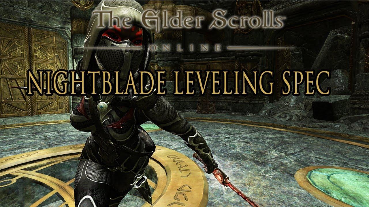 Elder Scrolls Online - Nightblade Leveling Guide - YouTube