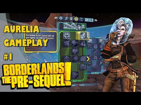 borderlands pre sequel aurelia guide