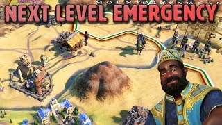Next Level Emergency Strategy  - Mali [#7] - Civilization VI Gathering Storm