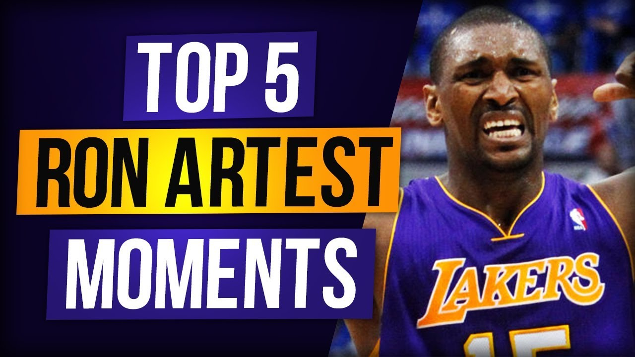 5abd4a2c933 The Best of Ron Artest - YouTube