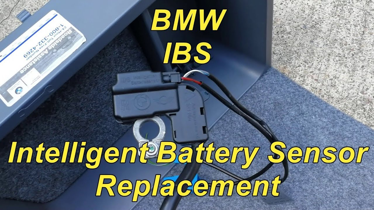 BMW IBS Intelligent Battery Sensor Replacement