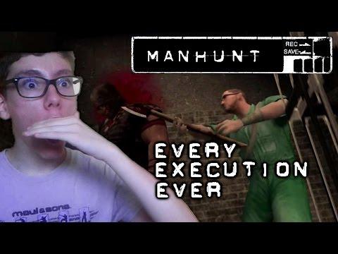 Every Manhunt Execution Ever w/Reaction [1080p 60fps]