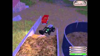 Farming Simulator 2011 Fertilzing with manure (Manure Spreader & Slurry Tanker)
