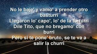 Download Lagu NO LE BAJES - El Coyote The Show, Farruko, Tito El Bambino  (LETRA) Terbaru