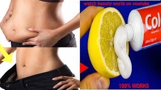Remove Stomach Fats in 5 minutes || bedtime apply | just apply to see result