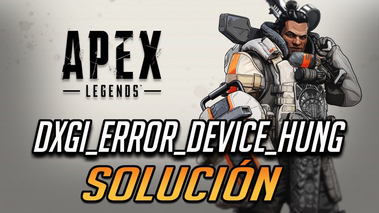 Solución Apex Legends Engine Error - 0x887A0006 -