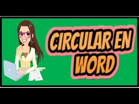 Download 📝Como hacer una circular en Word 📝 GTC 185