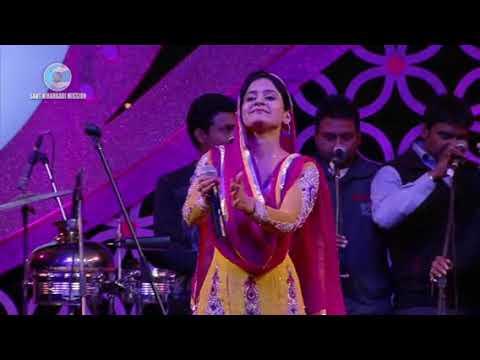 Miss pooja live  (चंगी तकदीर बनानी जे ) Nirankari