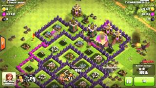 Clash of clans- Dragons and barbarians, Lots of loot.