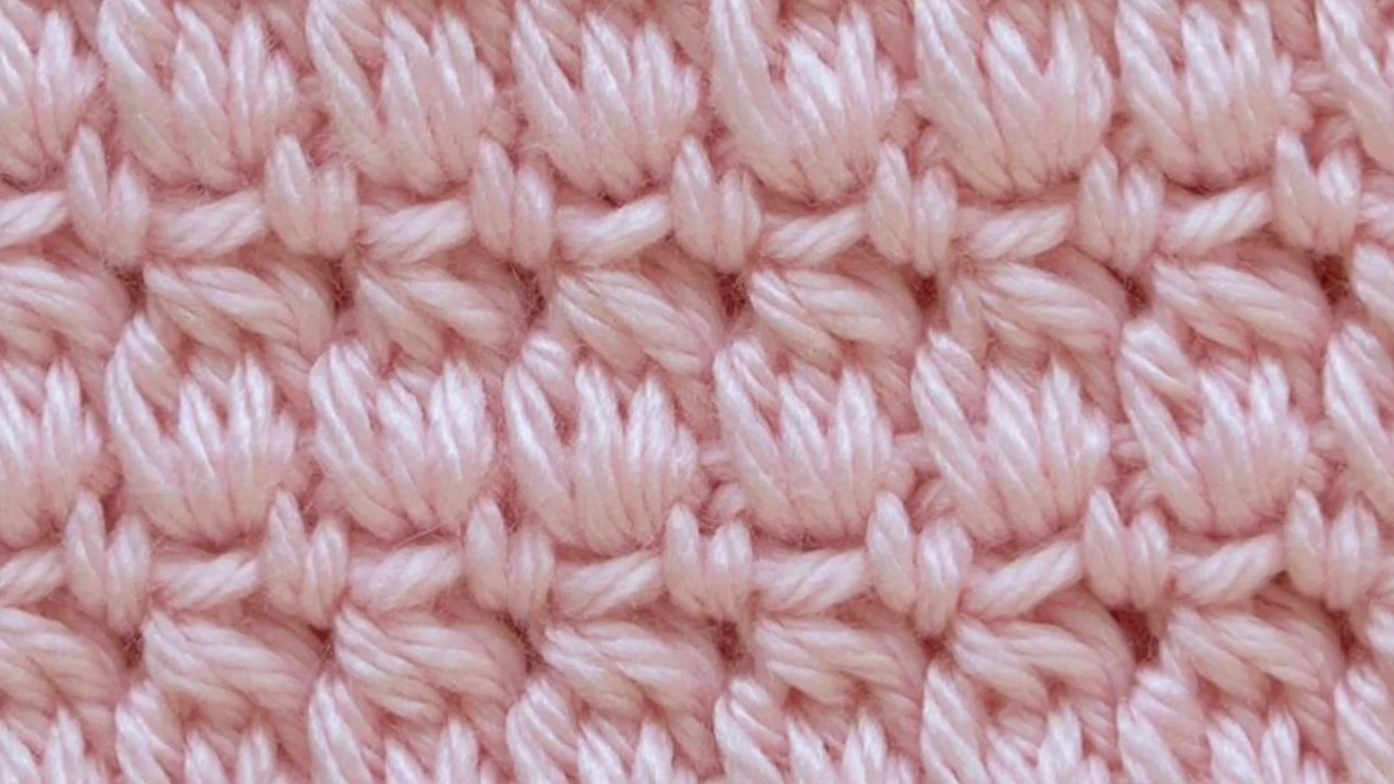 Cozy Cluster Crochet Stitch - YouTube