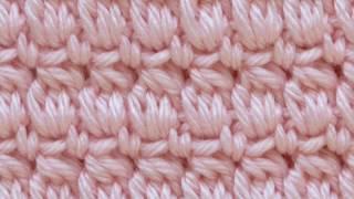 Cozy Cluster Crochet Stitch