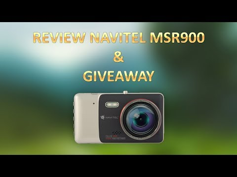 Review Camera Martor - Navitel MSR900 - Giveaway