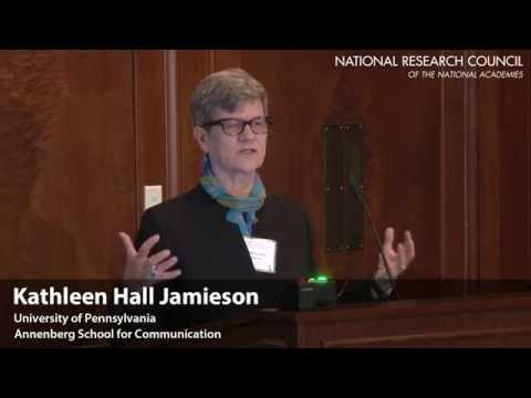 Toward a Common Understanding of Trust in Science - Kathleen Hall Jamieson