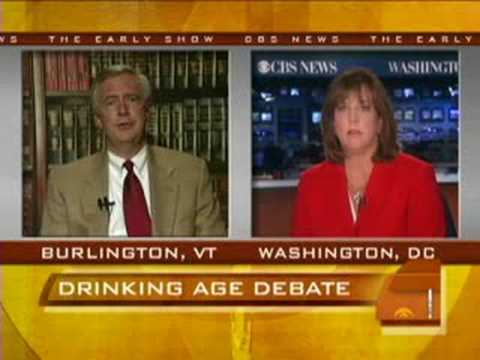 the debate over the legal drinking age in the united states