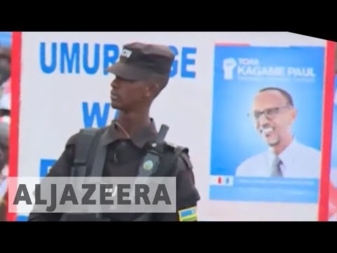Rwanda opposition complains of oppression ahead of vote