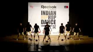 I Am Hip Hop Crew at HHI Qualifiers India