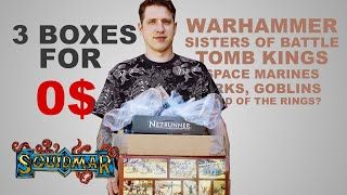 Warhammer SALVAGE - 3 boxes of old minis for $0 (Sisters of Battle, Tomb Kings, 40k and MORE!)