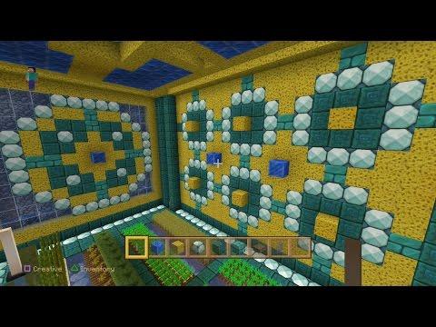Minecraft PS4 - Underwater Lair with Crops [0228]
