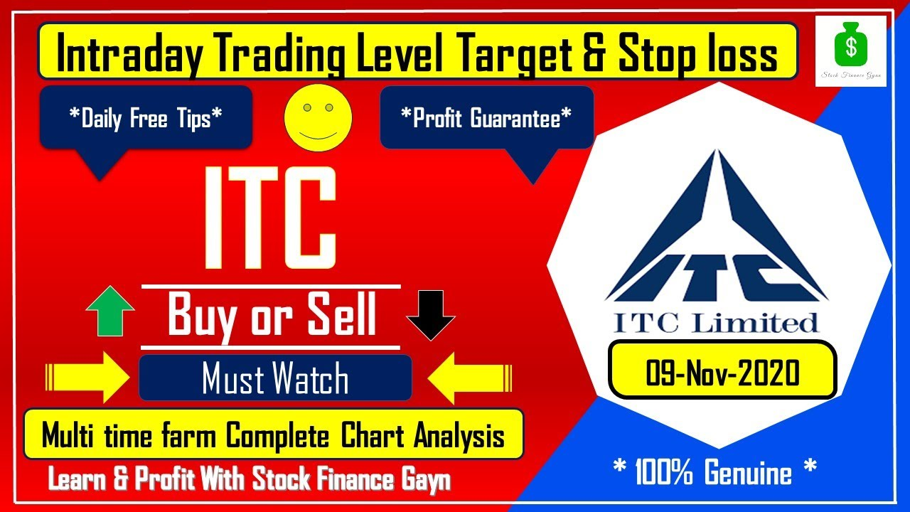 Itc Share Price Target Itc Share News Itc Stock Today Itc Forecast Tips Intraday Trading Tips Youtube