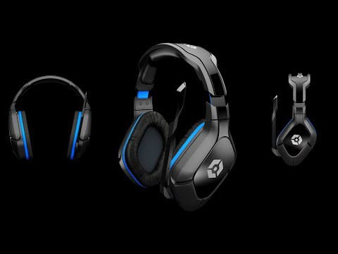 Unboxing Auriculares Gioteck Hc5 Wireless Pc Ps4 Ps3